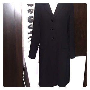 Danny & Nicole black trench coat. Size 14.